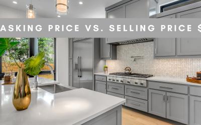 Asking price VS. Selling Price